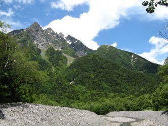 북알프스 묘진다케 北アルプス 明神岳 Mt.Myojindake