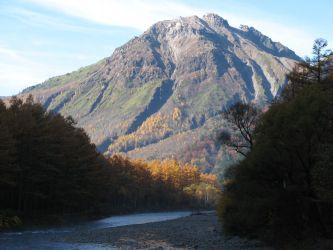 북알프스 야케다케 北アルプス 焼岳 Mt.Yakedake
