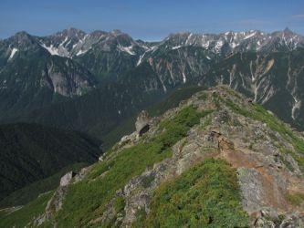 북알프스 호타카다케 야리가타케 北アルプス 穂高岳 槍ヶ岳 Mt.Hotakadake Mt.Yarigatake