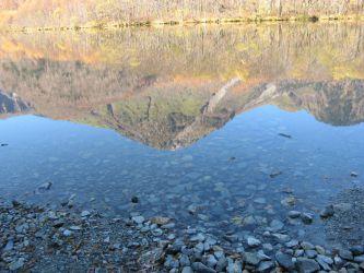 북알프스 야케다케 다이쇼 연못보다 北アルプス 焼岳 大正池より Mt.Yakedake