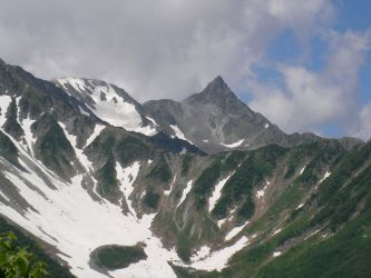 북알프스 야리가타케 北アルプス 槍ヶ岳 Mt.Yarigatake