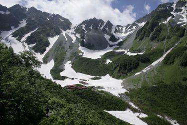 북알프스 호타카다케 가라사와 北アルプス 穂高岳 涸沢 Mt.Hotakadake Karasawa